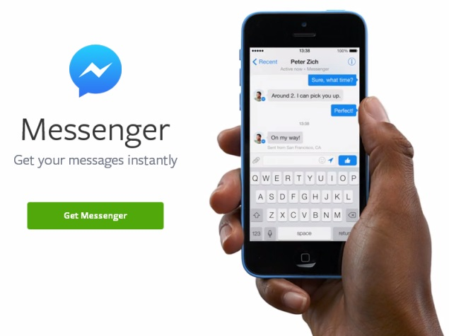 facebook messenger alert