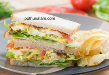 Egg sandwich recipes in tamil