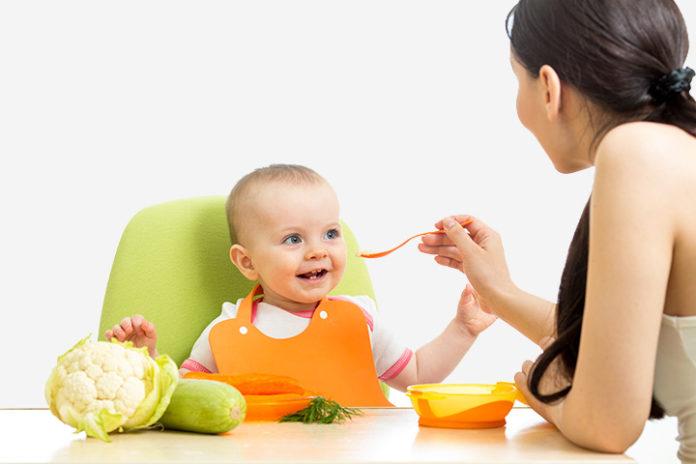 baby weight gain foods