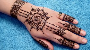 Mehndi Designs Simple For Back Hand