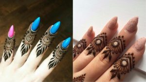Mehndi Designs Simple For Finger
