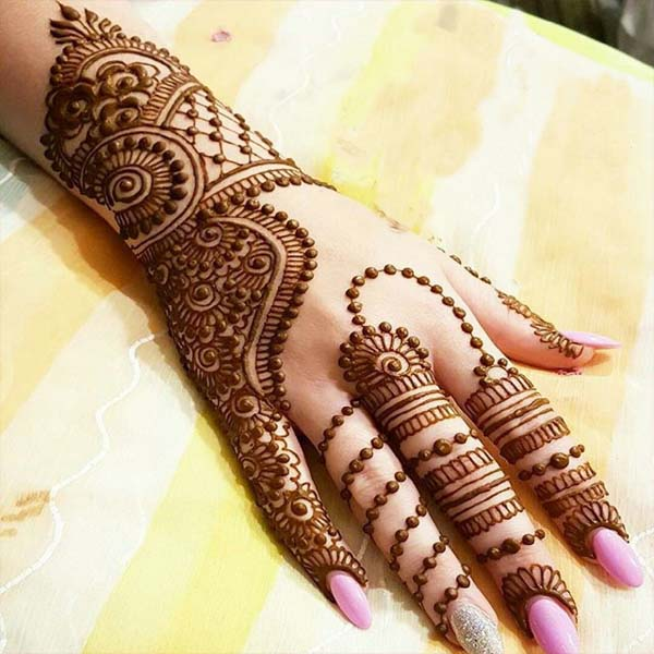 new mehandi designs