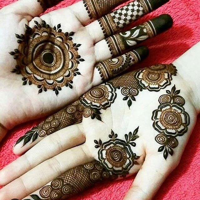 mehndi designs simple for pakistani