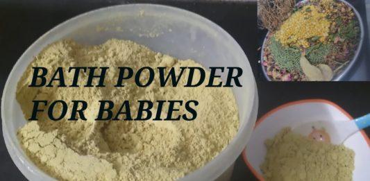 baby bathing powder