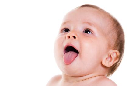 baby tongue