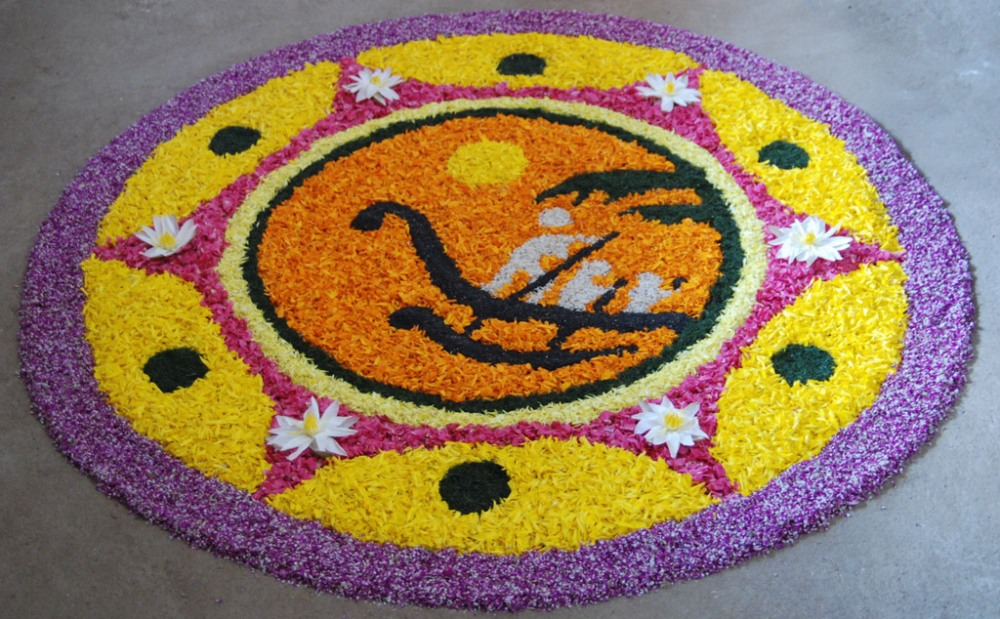Simple Athapookalam Designs Latest