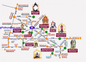 Navagragha route map