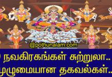 Kumbakonam Navagraha Temples List
