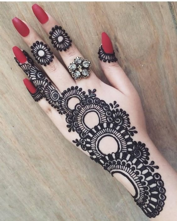 marriage mehndi design