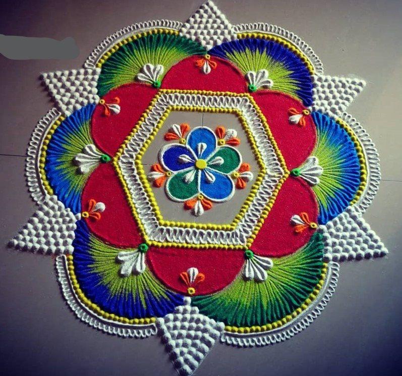 New Rangoli Kolam 2021