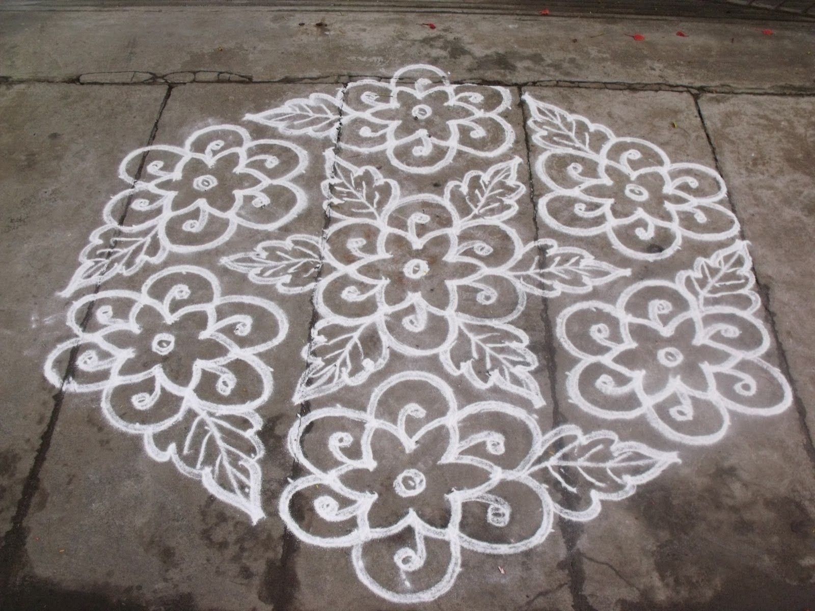 dot kolam designs 2020