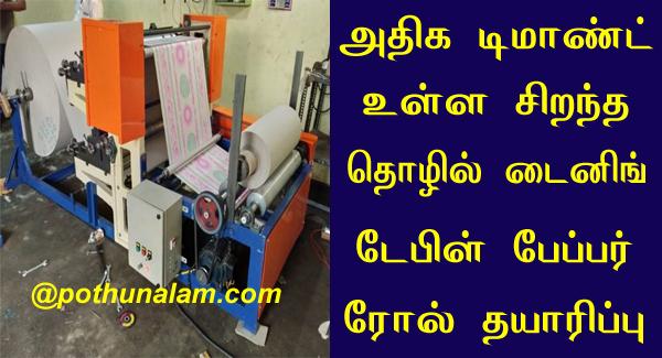 Business ideas tamil language