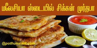Chicken murtabak recipe