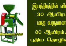 New business ideas tamil