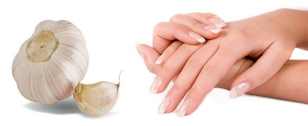 grow nails with garlic