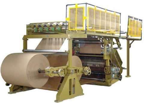 Paper Carton Box Making Machine
