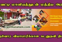 PM Street Vendor Atmanirbhar Nidhi Scheme