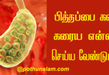 Home Remedies for Gallstones in Tamil