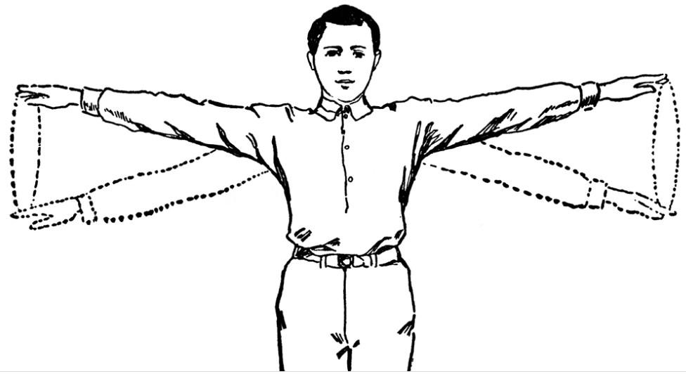 standing arm circles