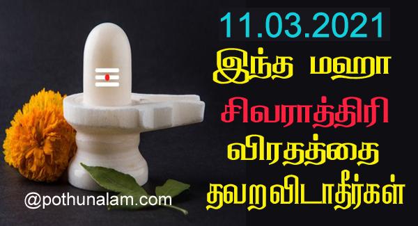 Maha shivratri 2021 date