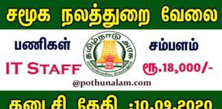 Madurai Jobs 2020