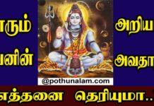 Sivaperuman Avatharangal