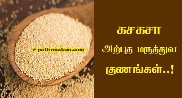 poppy seeds benefits in tamil
