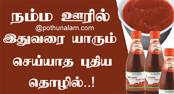 tomato ketchup making business