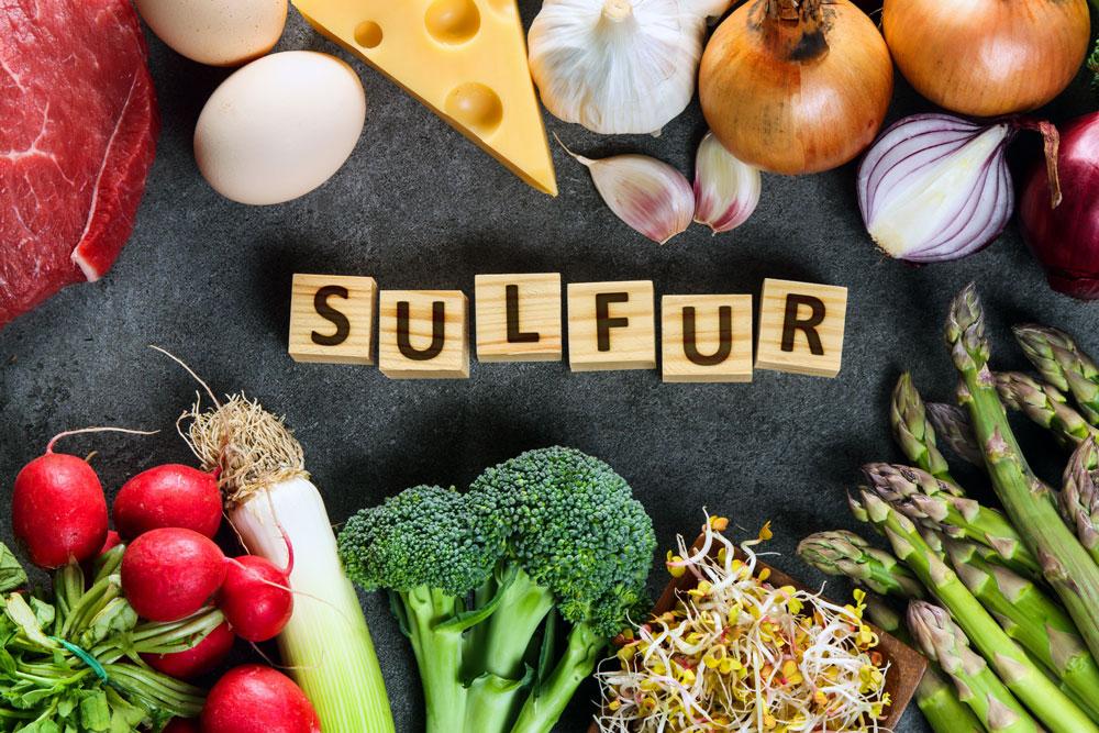 sulfur food