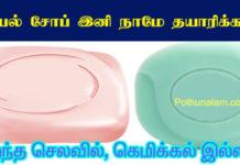 Kuliyal Soap Seivathu Eppadi Tamil