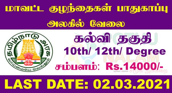Chennai Jobs 2021