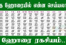 Horai in Tamil