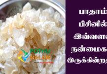 Badam Pisin Health Benefits