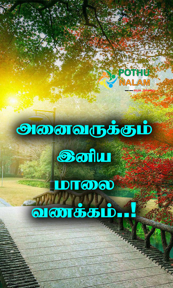 Good Evening in Tamil