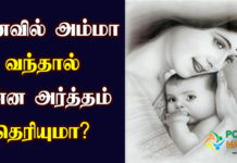 Mother Dream Meaning in Tamil