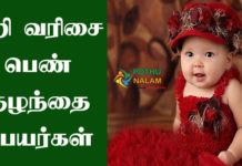 Baby Girl Names Starting With he in Tamil