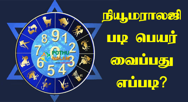 Numerology Calculator in Tamil