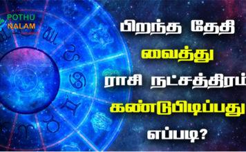 Rasi Nakshatra Calculator in Tamil