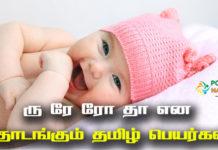 Ru Re Ro Tha Baby Names