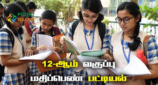 tn hsc exam 2021 result