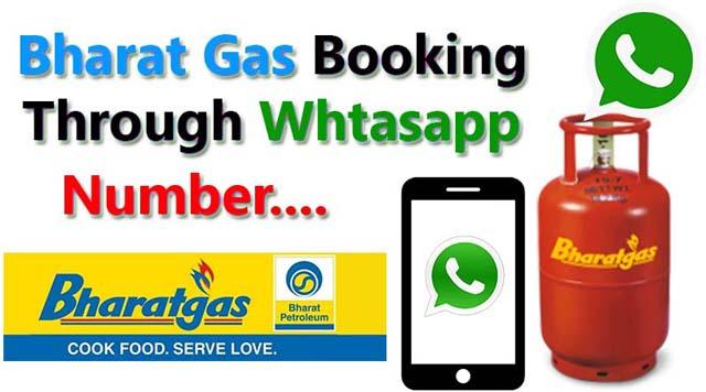 Booking-Bharat-Gas-On-Whtasapp