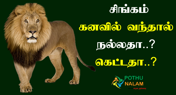 Lion Dream Meaning in Tamil