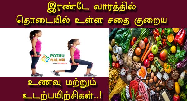 Thodai Sadhai Kuraiya in Tamil