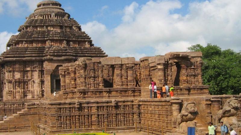 konark sun temple images