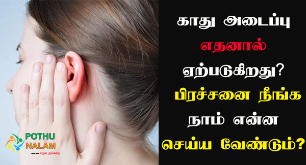 Blocked Ear Reasons in Tamil