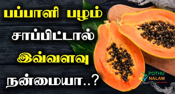Papaya Benefits in Tamil