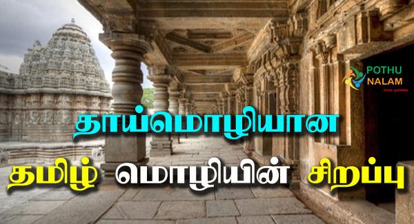 Tamil Moliyin Sirappu