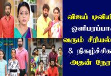 Vijay TV Serial Name Tamil