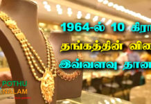 gold history in tamil