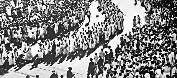 mahatma gandhi speech in tamil